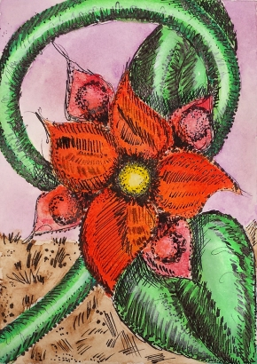 http://www.dailypaintworks.com/fineart/melanie-sinclair/she-draws-flowers-like-a-girl-ii/172660